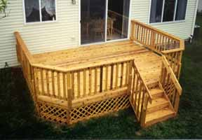 Decks cross country contractors for 10 x 8 deck plans